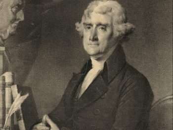 Portrit of Thomas Jefferson